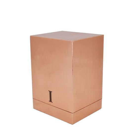Luxury Single Color 2PCS Cosmetic Pacakging Paper Box