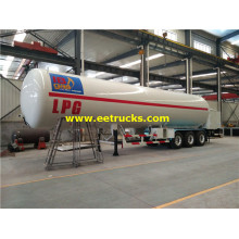 56 M3 ASME LPG Semi Trailers