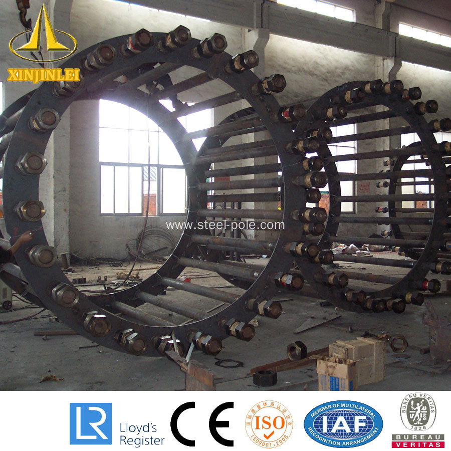 Electrical Transmission Line Distribution Steel Pole