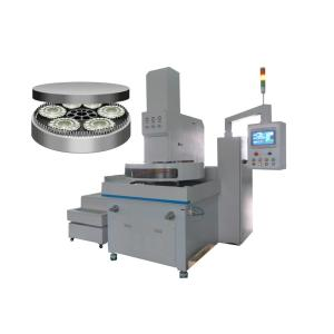 Mirror lapping and polishing machine