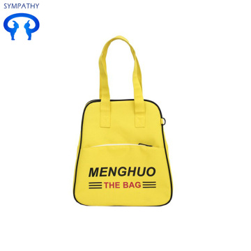 Korean sports embroidered one-shoulder bag for short trips
