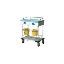 Hospital marble infusion cart