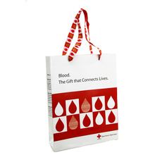Good Quality for Coloured Paper Bags With Handles Custom Printed Logo Polka Dot Paper Bag supply to Poland Supplier