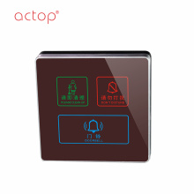 High Quality for Hotel Ding Dong Doorbell Actop compatible Intelligent Smart hotel door plate export to Poland Factories