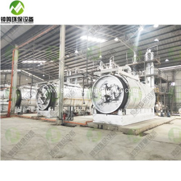 Process Refining Of Waste Lubricating Oil Recycling Plant