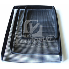 High Quality for Pizza Mesh Tray Set of 2 Non-Stick Oven Crisper Trays supply to Iran (Islamic Republic of) Importers