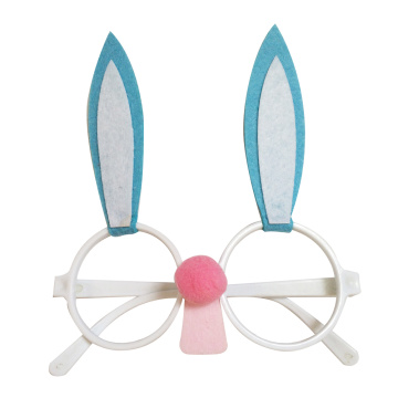 Easter bunny shape sunglasses for easter decorations