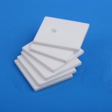 China for Square Refining Industrial Ceramic Plate High precision insulation 95% alumina ceramic aperture export to Russian Federation Suppliers