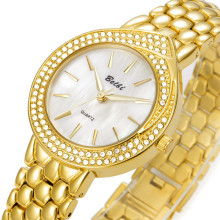 Excellent quality for Classic Luxury Watches Stainless Steel Oval Waterproof Quartz Ladies Watch supply to South Korea Suppliers