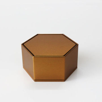 High Quality Hexagon Mooncake Packaging Cardboard Gift Box