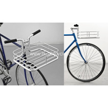 Beautiful Minimal Bike Basket Built Into Handlebars