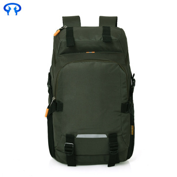 Trendy outdoor waterproof double backpack