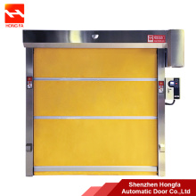 20 Years manufacturer for China PVC High Speed Door,Large PVC High Speed Door,Transparent High Speed Door Supplier Automatic PVC Fabric High Speed Roll up supply to Macedonia Importers