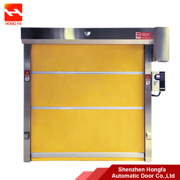Baja Otomatis Roller Shutter PVC High Speed ​​Door