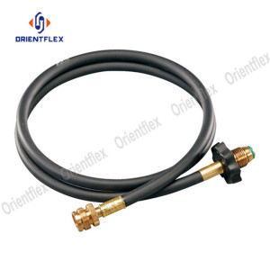 Flexible natural gas hose propane lpg welding hose
