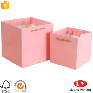 Fancy gift decorative handmade paper bags