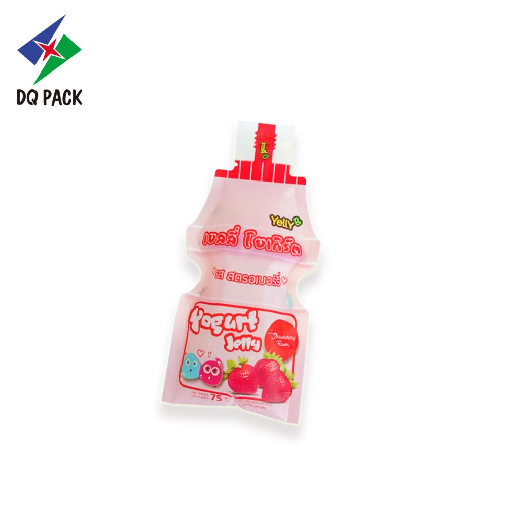 Special shape pouch liquid packaging pouch
