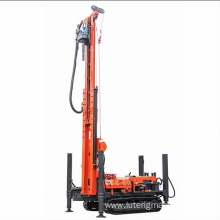 Small Trailer Borehole Water Well Drilling Rig