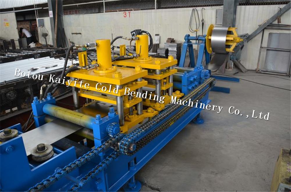 steel door frame machines