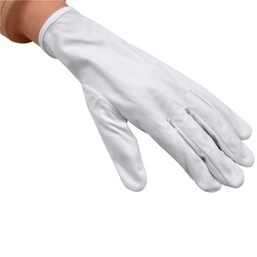 logo printed microfiber electronics jewelry polishing glove