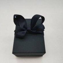 Blue Velvet Inside Jewelry Paper Gift Box