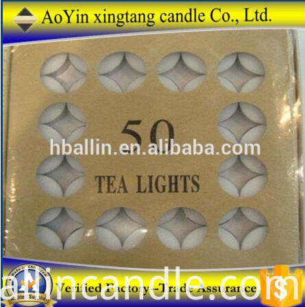 50 tealight candle