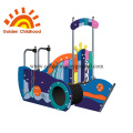 Colorful Ship Outdoor Playground Equipment For Children