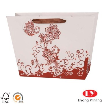 Fancy gift promotional shopping paper bags