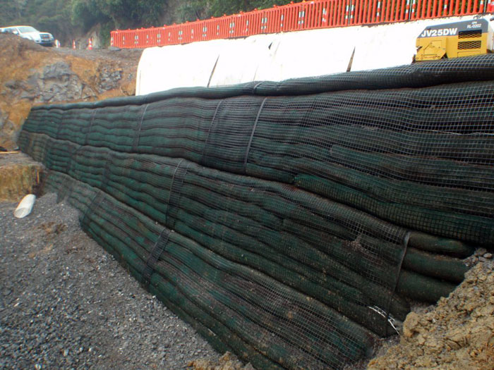 Retaining Walls Polyester Uniaxial Geogrid