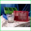 BPA Free Square Silicone Custom Ice Cube Tray