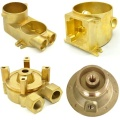 Hydraulic part brass investment casting