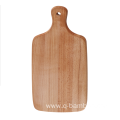 Europe beech wood cutting board with handle