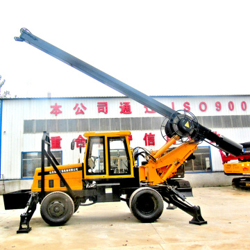 Square Rod Pressurized Soil Drilling Rig Machine