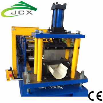 Aluminium Rain Water Gutter Roll Forming Machine