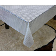 Printed pvc lace tablecloth by roll newbridge