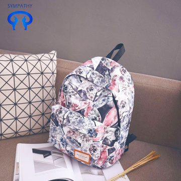 Custom printed backpack with large capacity