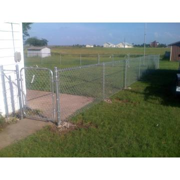 High Security Construction Galvanized Chain Link Fence