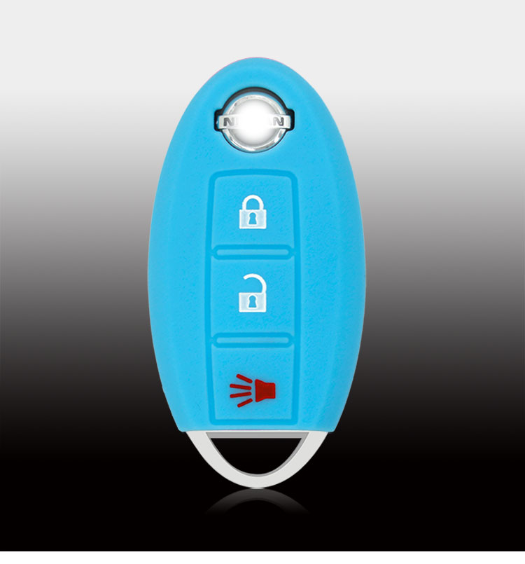 Nissan silicone car key fob case