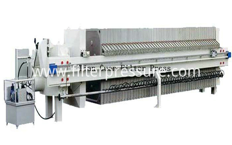 Sewage Plate Frame Filter Press 3