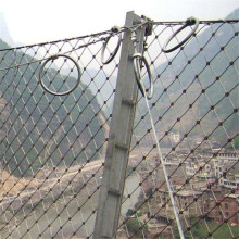 sns slope stabilization rock fall stainless steel wire mesh