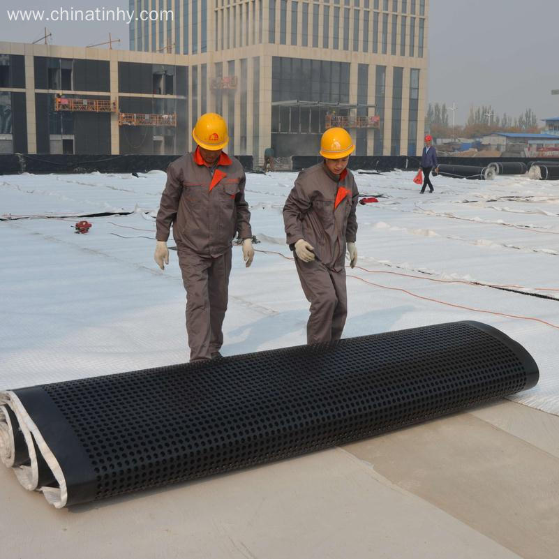 HDPE Type Dimple Height Drainage Board for Landscape