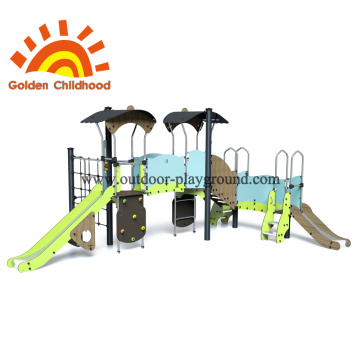 Rope school climbing playground equipment
