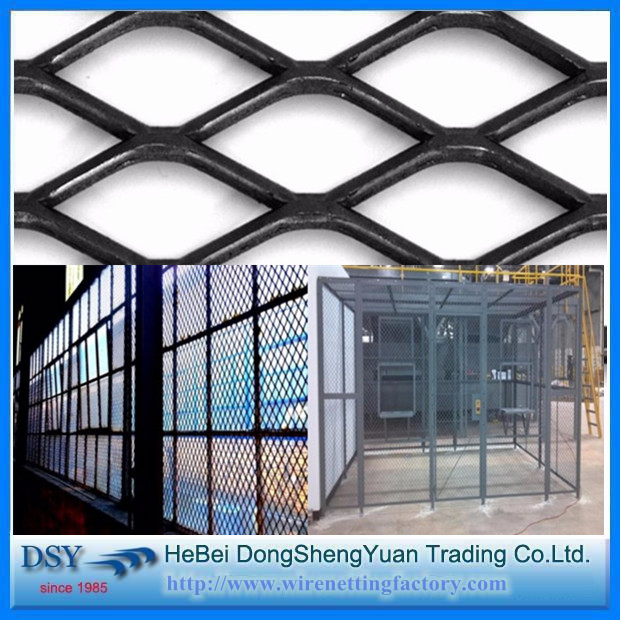 Anti-glare Expanded Metal Mesh Fence