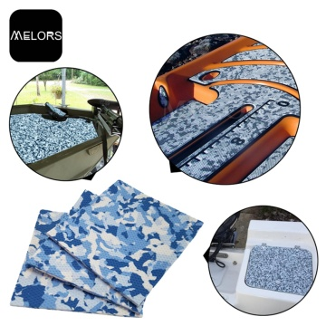 Melors Camouflage Sheet Coaming Bolsters For Boats