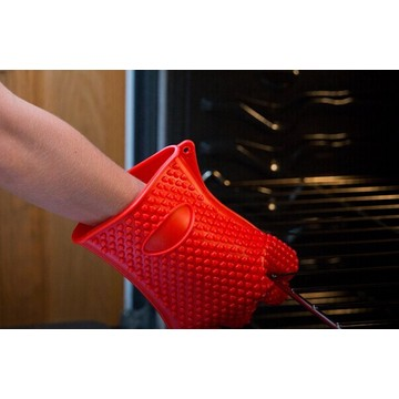 BPA free Dishwasher safe Silicone microwave heated gloves