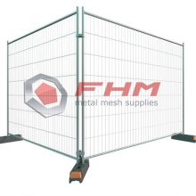 Galvanized Temporary Security Fencing of Welded Wire