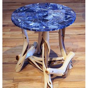 Translucent or No Translucent blue sodalite table