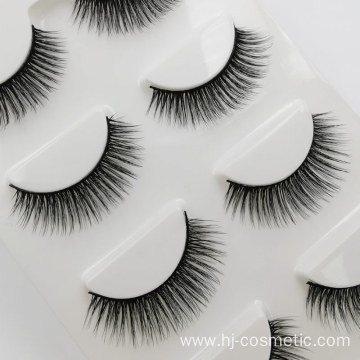 Wholesale top quality private label 3D mink false eyelashes with custom eyelash packaging