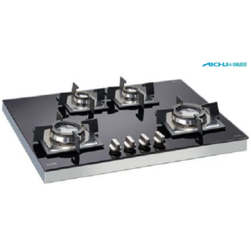 Glen 4 Burners Built In Glass Hob