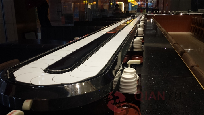 Rotary Catering Sushi Conveyor Belt